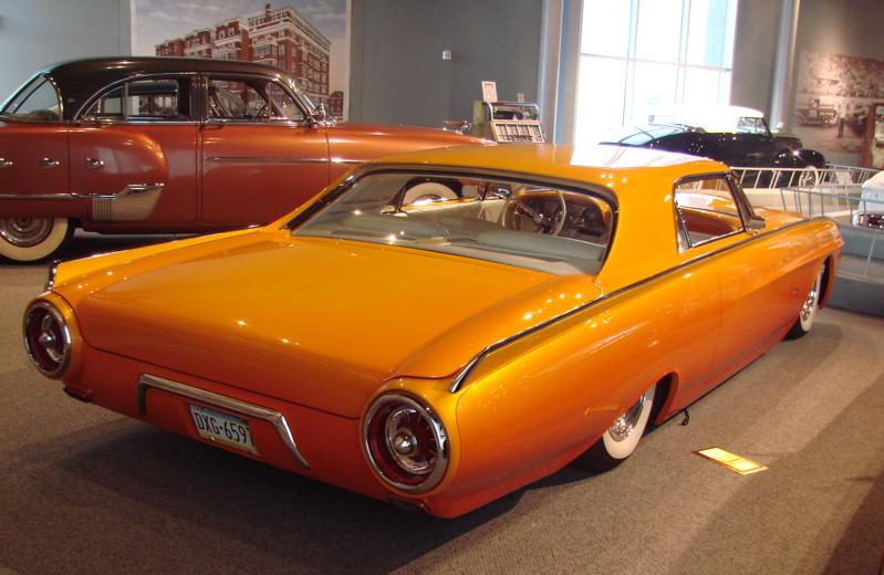 Ford Thunderbird 1961 - 1963 custom & mild custom Aow01111