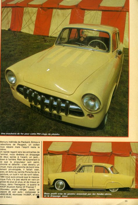 Simca custom & mild custom - Page 2 Aronde27