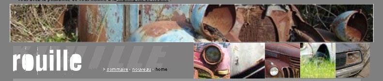 Rouillées - galerie de photos d'épaves de voitures anciennes Banner11