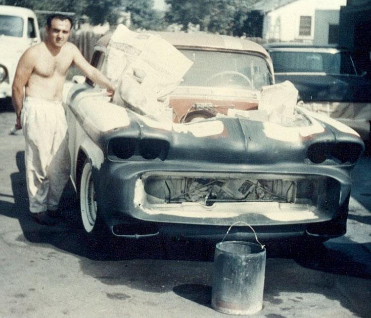 1956 Chevy pick up - Kopper Kart - George Barris Barris10