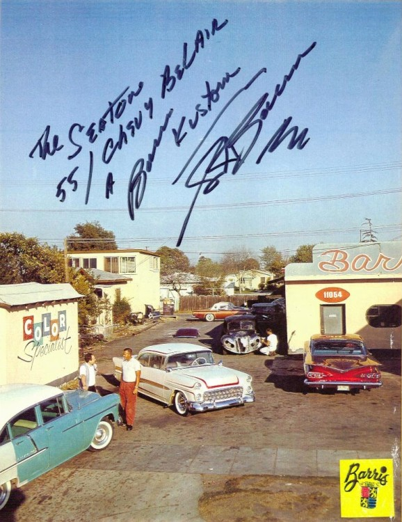 Chevy 1955 custom & mild custom - Page 3 Barris11
