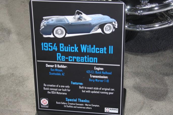 1954 Buick Wildcat II Motorama Dream Car  Buick-12
