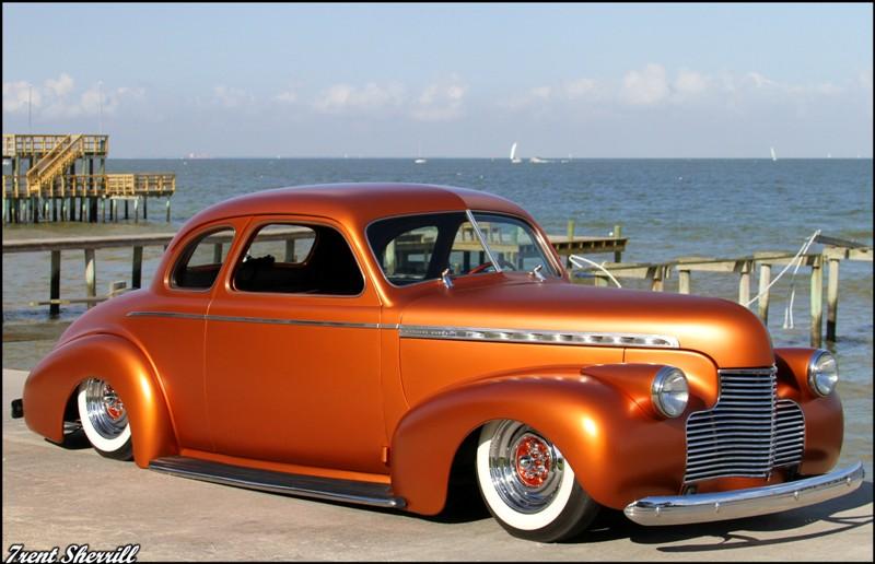 Chevy 1940 - 45 custom & mild custom Burl-410