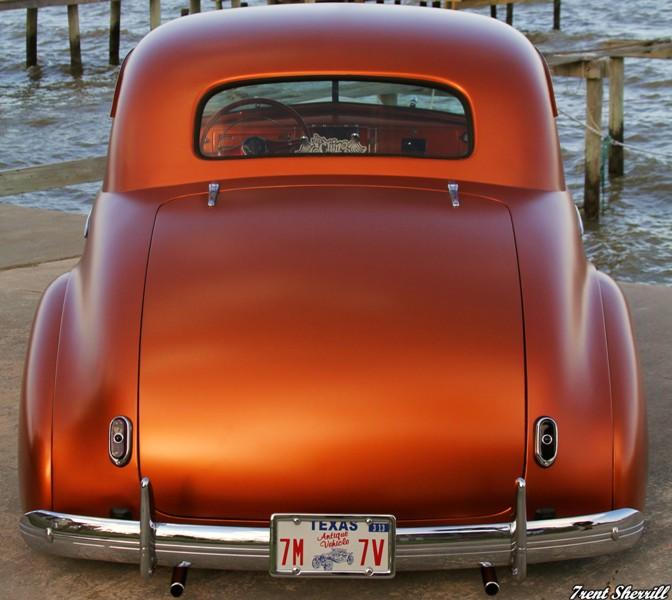 Chevy 1940 - 45 custom & mild custom Burl-412