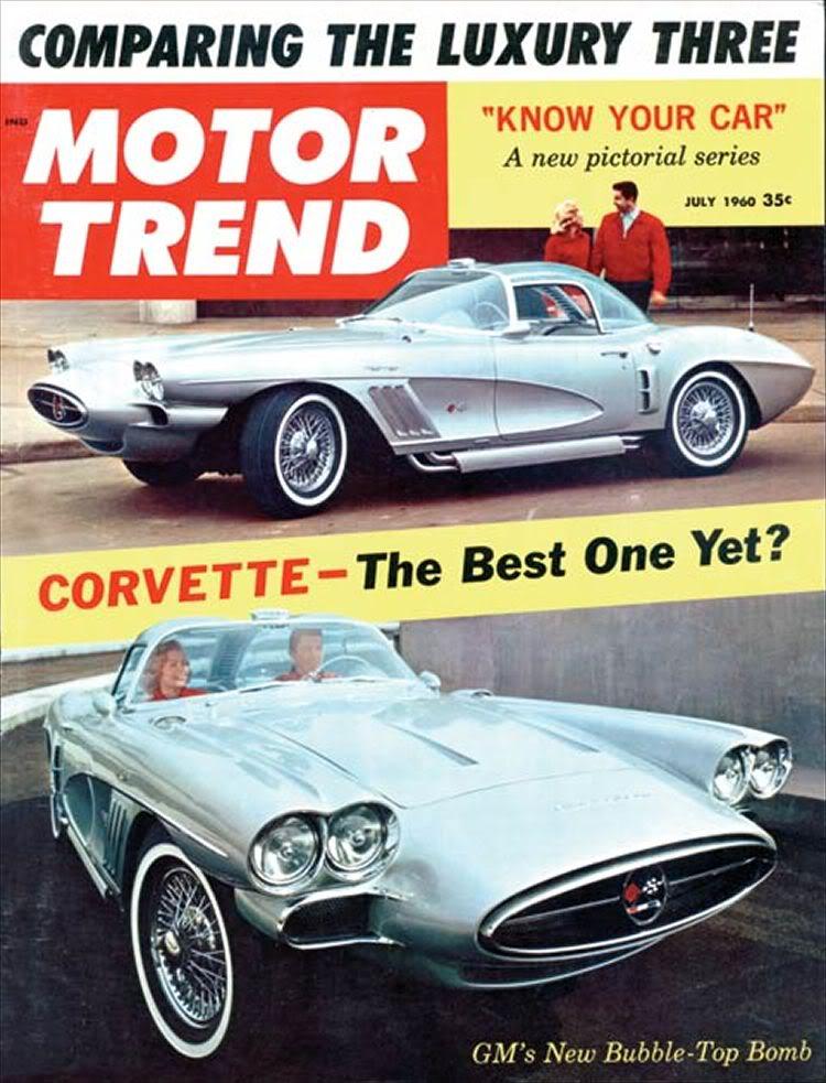 1958 Chevrolet Corvette XP-700 C12_0510