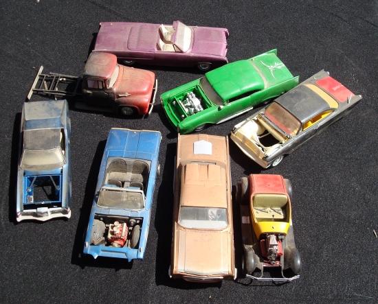 Vintage built automobile model kit survivor - Hot rod et Custom car maquettes montées anciennes Cars2110