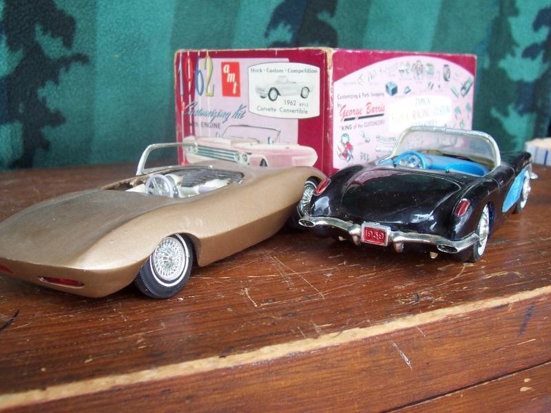 Vintage built automobile model kit survivor - Hot rod et Custom car maquettes montées anciennes Csdgf10