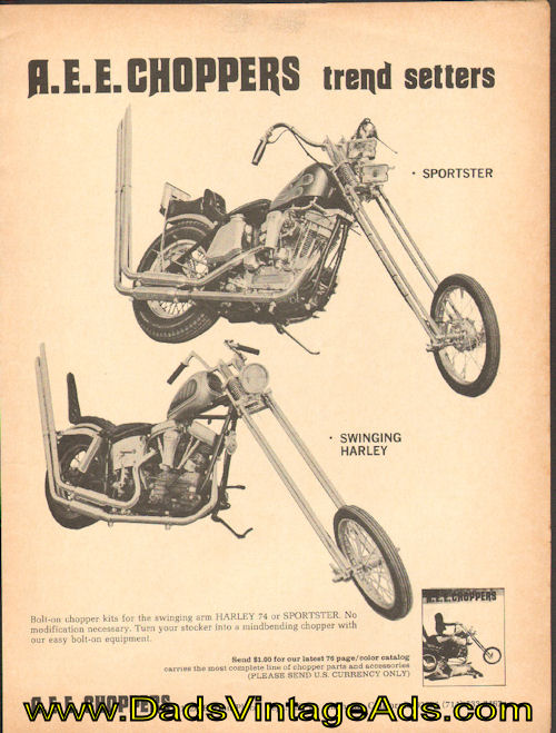 Publicité Choppers & Custom bikes  - Choppper parts ads De70ba10