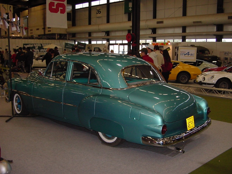 Salon auto moto collection - 2003 - stand fifties gang Dsc00012