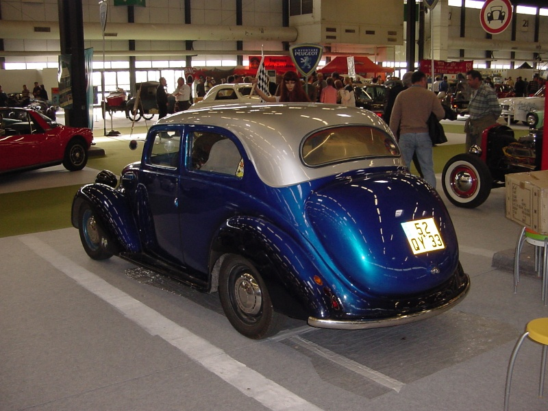Salon auto moto collection - 2003 - stand fifties gang Dsc00014
