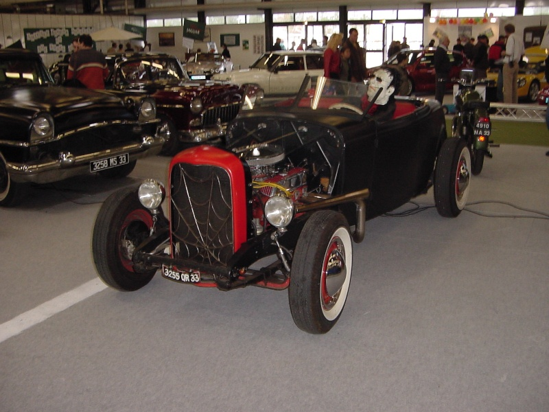 Salon auto moto collection - 2003 - stand fifties gang Dsc00015