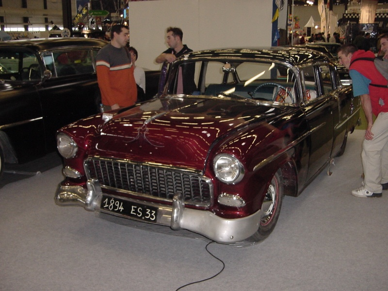 Salon auto moto collection - 2003 - stand fifties gang Dsc00021