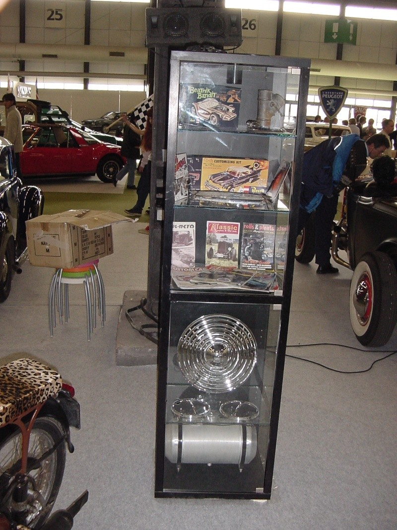 Salon auto moto collection - 2003 - stand fifties gang Dsc00022