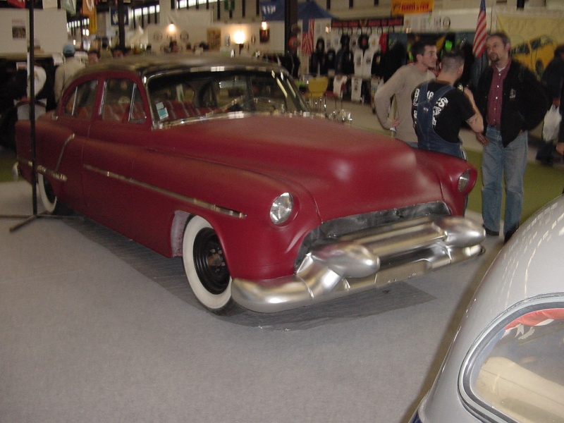 Salon auto moto collection - 2003 - stand fifties gang Dsc00025