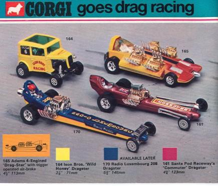 Corgi Dragster - 1/43 scale - Drag Racing E4ec9010