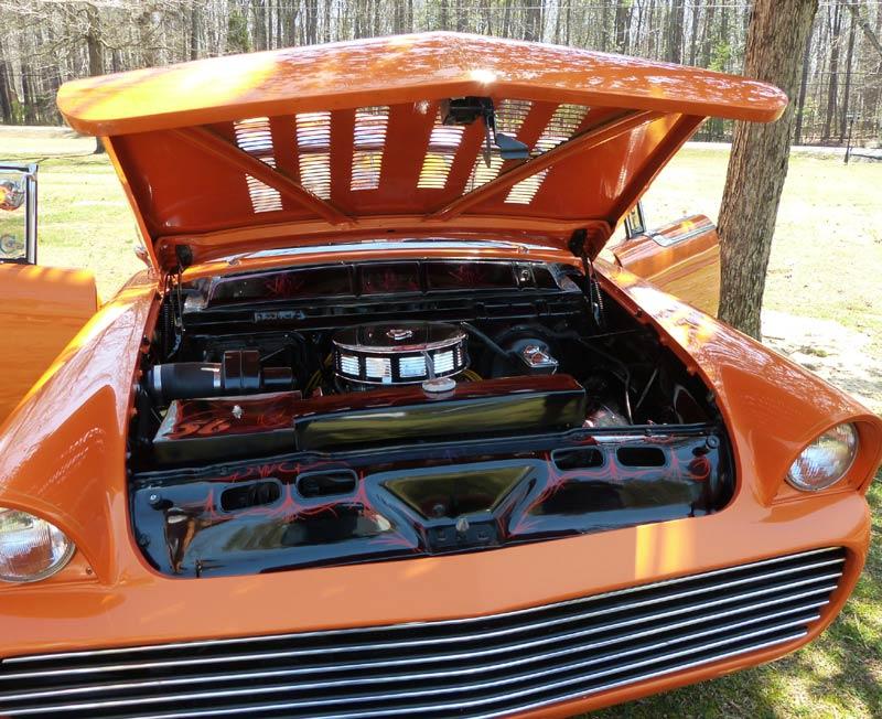Mercury 1955 - 1956 Custom & mild custom Engine10