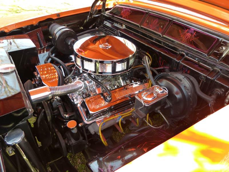 Mercury 1955 - 1956 Custom & mild custom Engine11