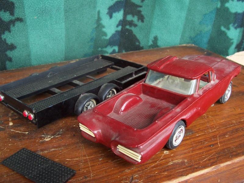 Vintage built automobile model kit survivor - Hot rod et Custom car maquettes montées anciennes Fdgr10