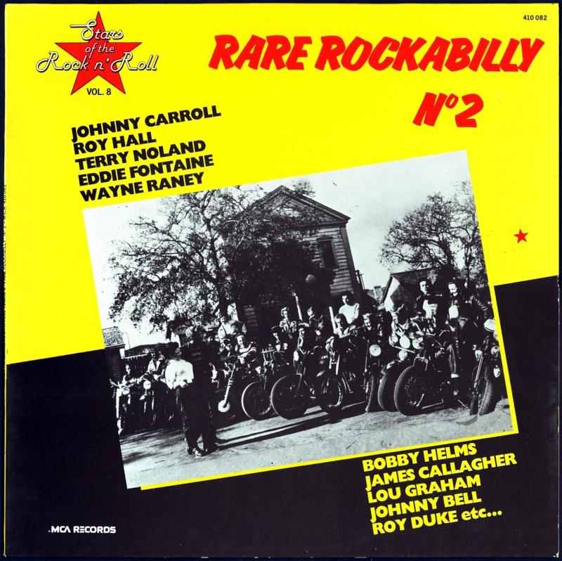 Rare Rockabilly - 33t - mca records - Various 1950's Rockabilly to Decca, Brunswick & Coral records Folder39