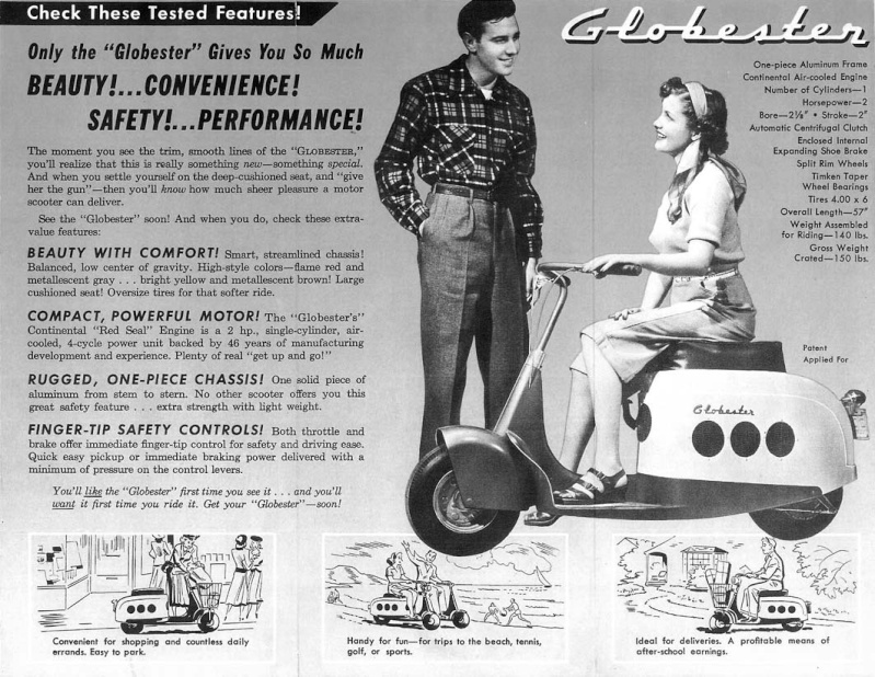 Scooter des 1950's & 1960's - Page 2 Globe_10