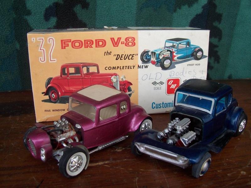 Vintage built automobile model kit survivor - Hot rod et Custom car maquettes montées anciennes Gtg10