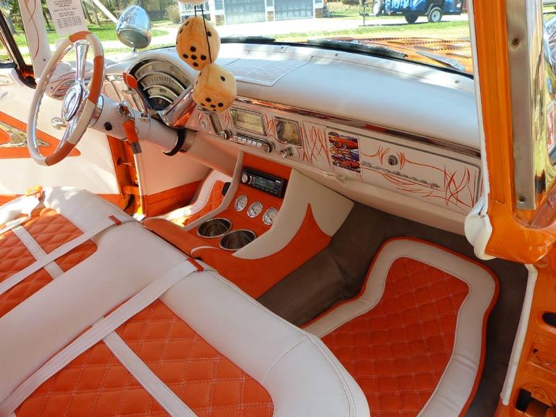 Mercury 1955 - 1956 Custom & mild custom Interi15