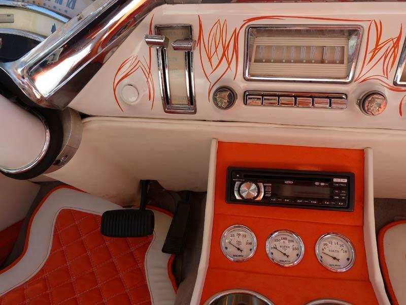 Mercury 1955 - 1956 Custom & mild custom Interi18