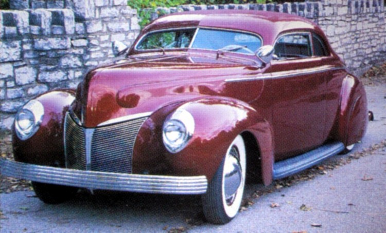 Ford & Mercury 1939 - 40 custom & mild custom - Page 4 Johnny17