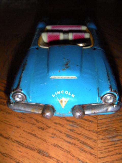 Convertible XL–500 Dream Car - Tin toys made in japan Kgrhqf13