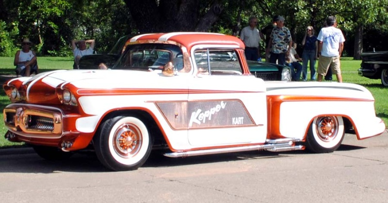 1956 Chevy pick up - Kopper Kart - George Barris Kkoa1010