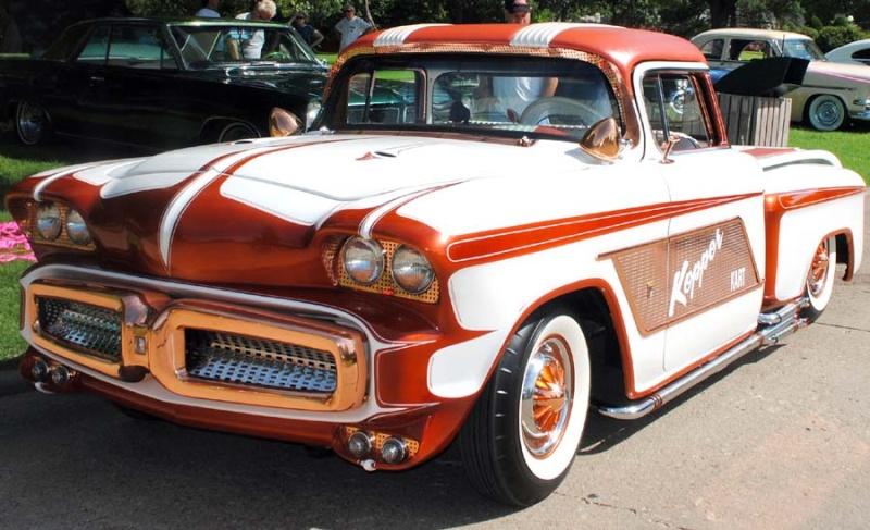 1956 Chevy pick up - Kopper Kart - George Barris Kkoa1110