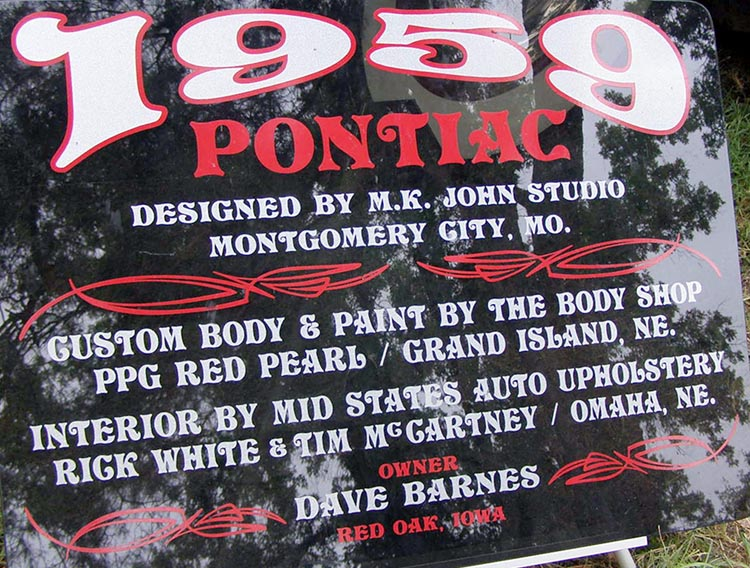 Pontiac 1959 - 62 custom & mild custom Koa10112