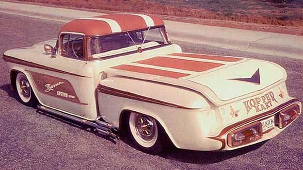 1956 Chevy pick up - Kopper Kart - George Barris Kopper10