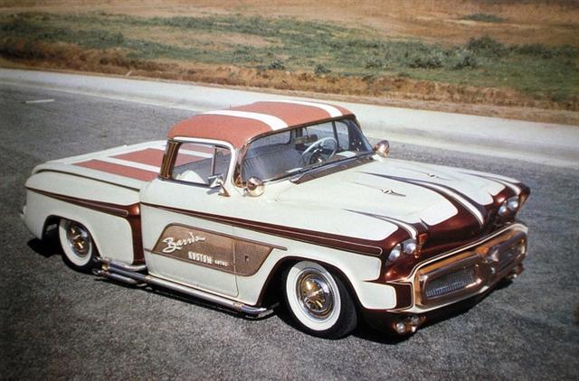 1956 Chevy pick up - Kopper Kart - George Barris Kopper11