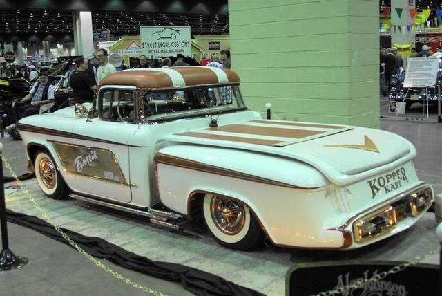 1956 Chevy pick up - Kopper Kart - George Barris Kopper13