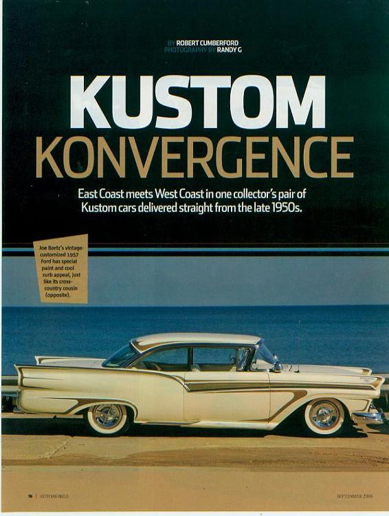 Ford 1957 & 1958 custom & mild custom  - Page 2 Kustom12