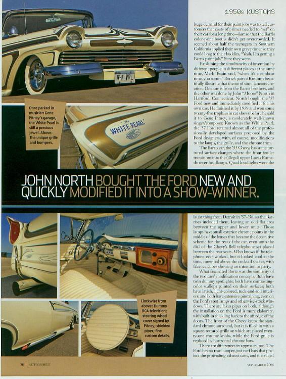 Ford 1957 & 1958 custom & mild custom  - Page 2 Kustom14