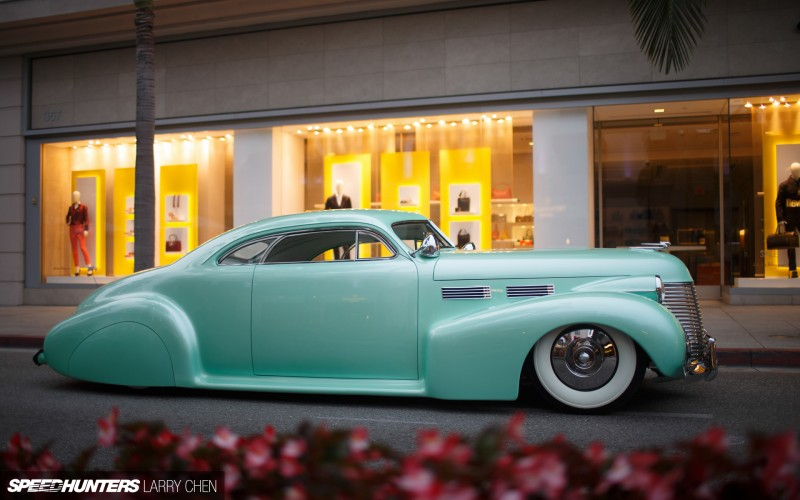 Cadillac 1941 - 47 custom & mild custom Larry_19