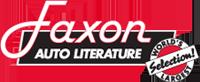 Toute les Manuels d'atelier US - Faxon Auto Literature Logo10