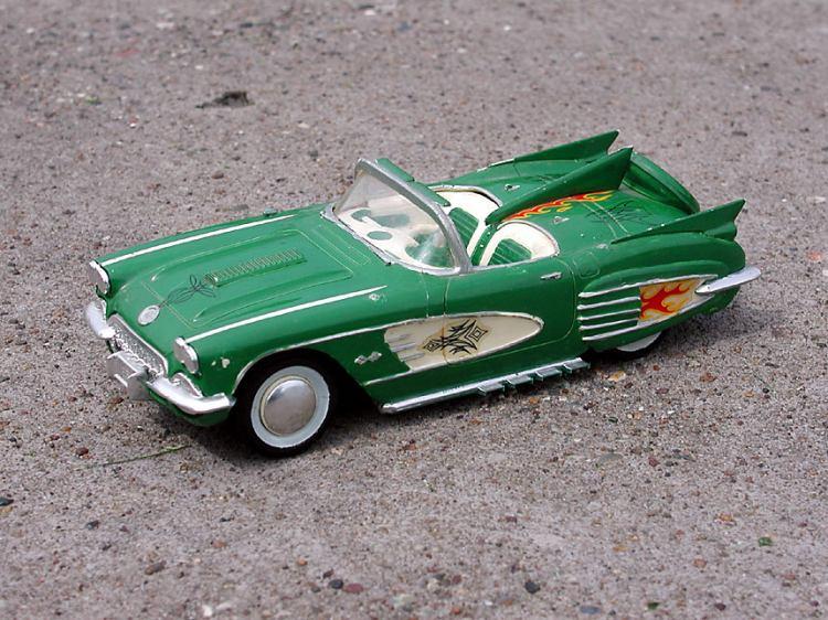 Vintage built automobile model kit survivor - Hot rod et Custom car maquettes montées anciennes P5070010