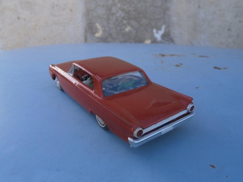 1961 Ford Galaxie  - Customizing kit - 3 in 1 - amt - 1/25 scale Pa230040