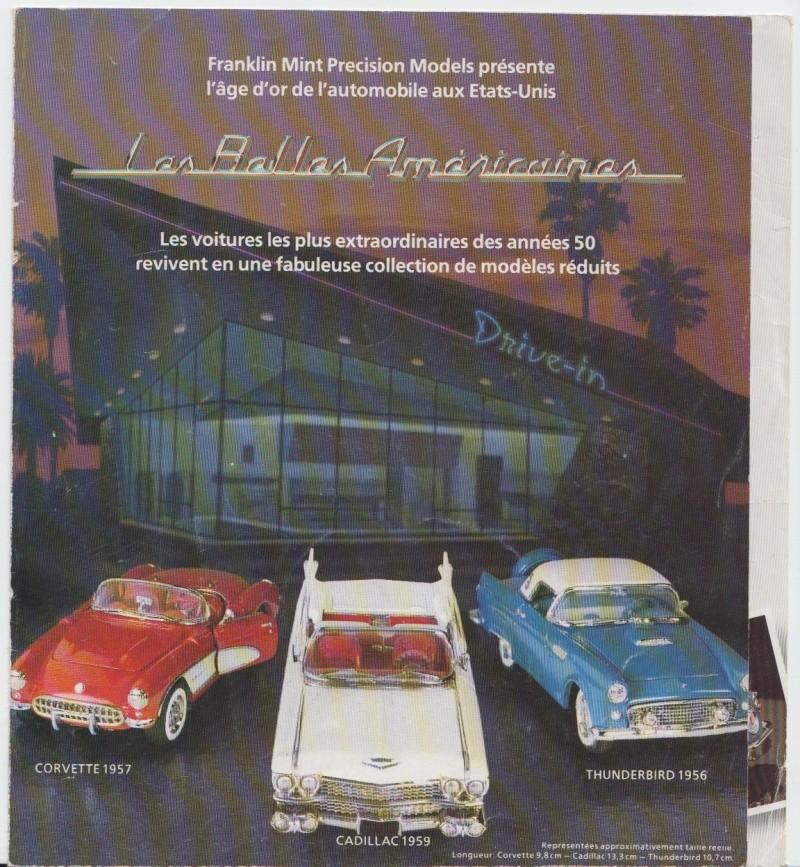 Franklin Mint - Fifties cars - 1/43 scale - Les Belles Américaines Pub11