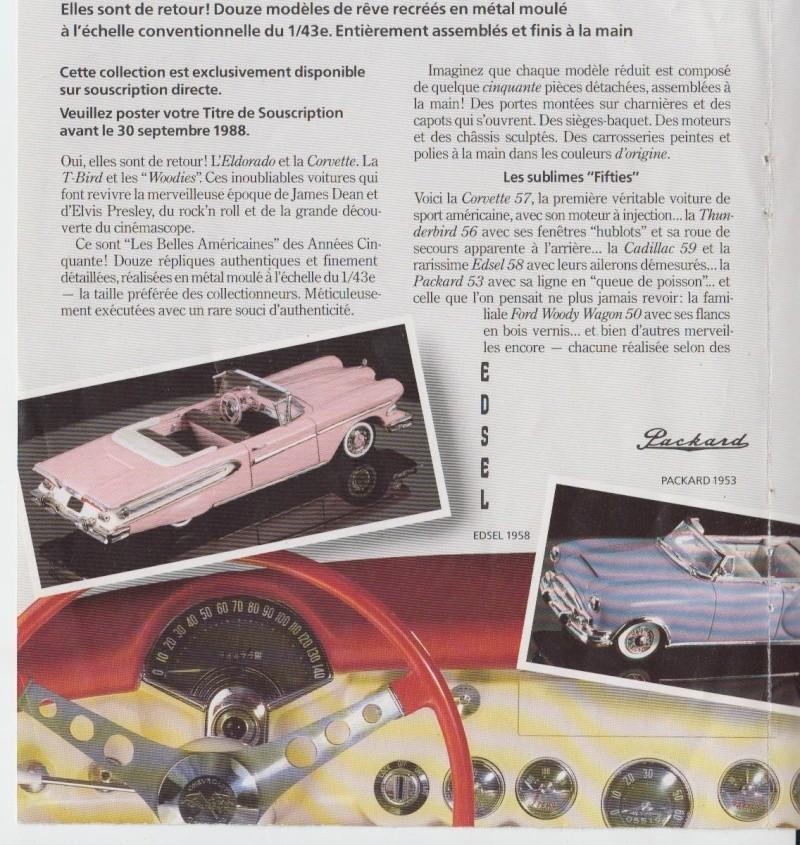 Franklin Mint - Fifties cars - 1/43 scale - Les Belles Américaines Pub_0010