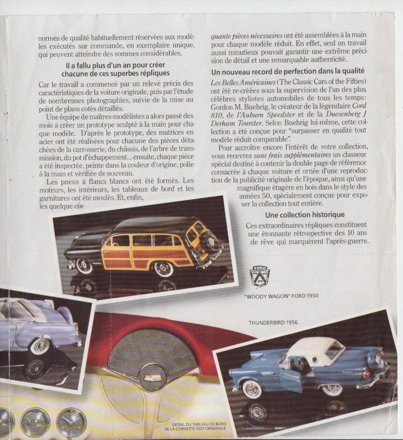 Franklin Mint - Fifties cars - 1/43 scale - Les Belles Américaines Pub_0011