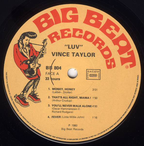 Le label - Big Beat Records - rockabilly to the 1980's  R-201612