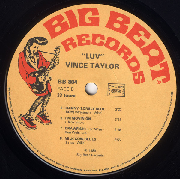 Le label - Big Beat Records - rockabilly to the 1980's  R-201613