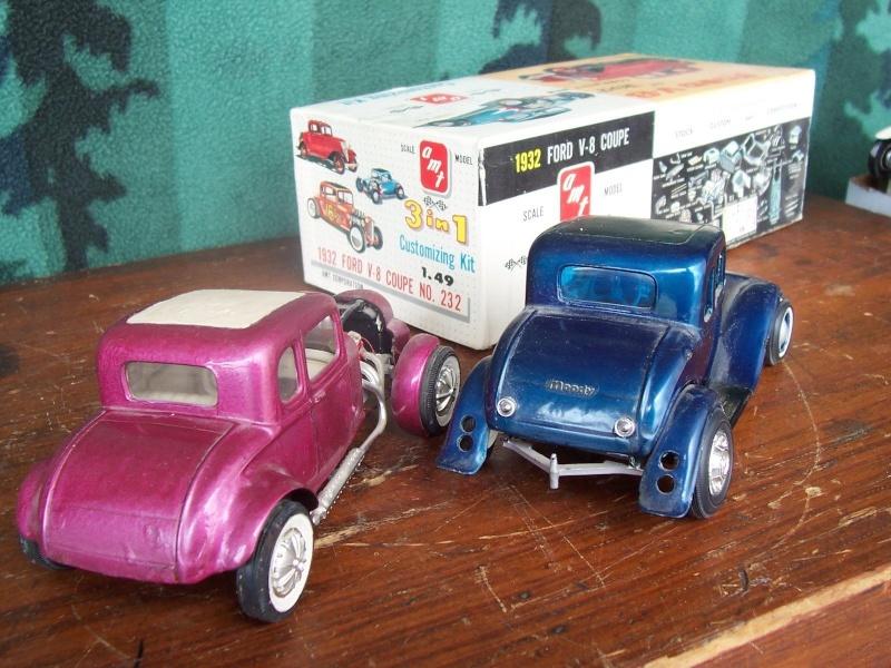 Vintage built automobile model kit survivor - Hot rod et Custom car maquettes montées anciennes Refrfr10