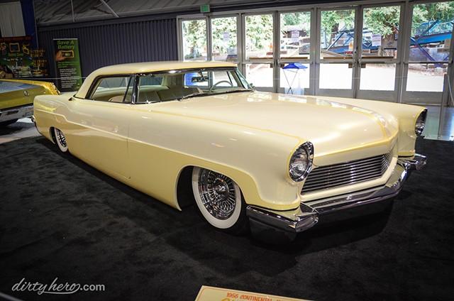 Lincoln Continental 1956 - 1957 custom & mild custom Richar11