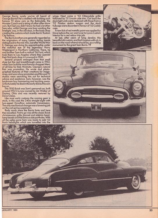 1950 Buick -  Sam Barris Sambar16