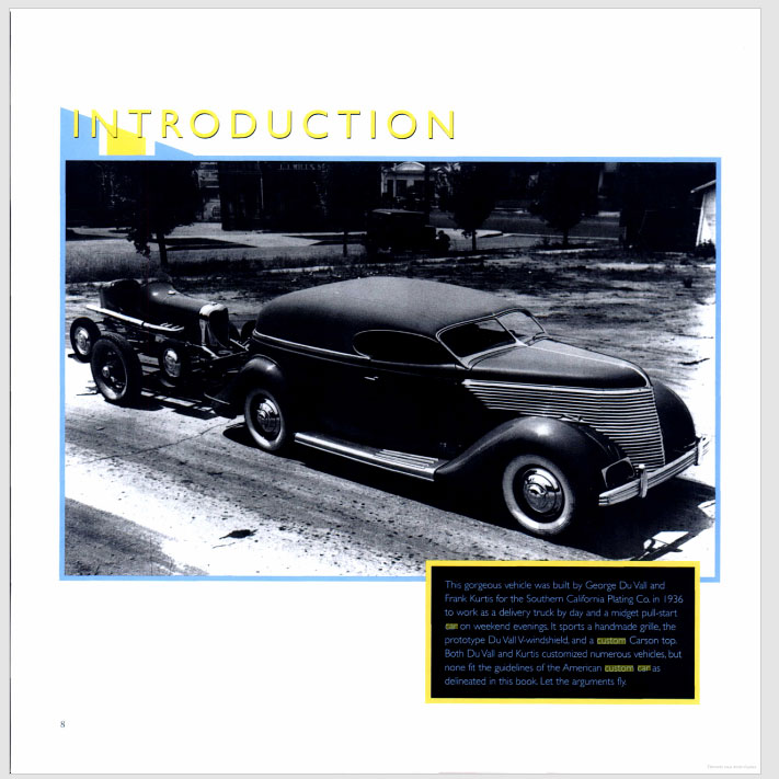 The American Custom Car - Pat Ganahl - Motorbook classics Sans-t27